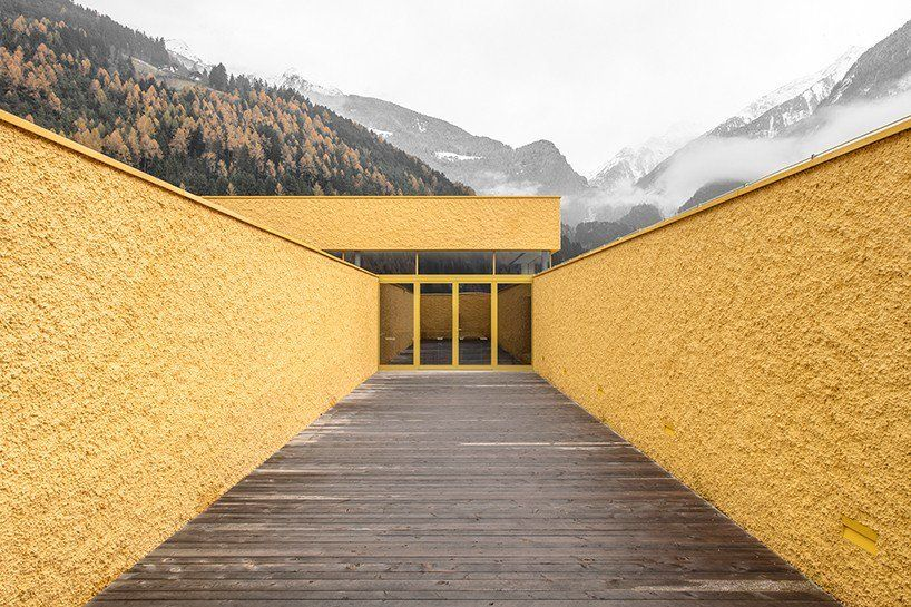 pedevilla architects paint fire station mustard yellow in northern italy https://t.co/MdXLvlSRl4 via PaigeStainless
