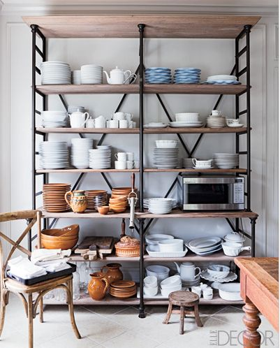 Superieur #5 Hampton Home With French Flair Kitchen Etagere, Roger Davies,  Www.ElleDecor.com