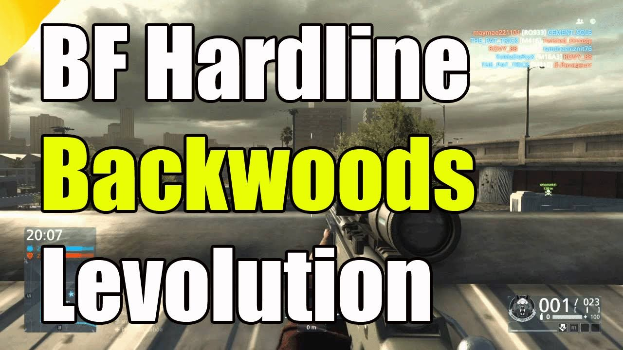 Battlefield Hardline Criminal Activity Backwoods Levolution Event