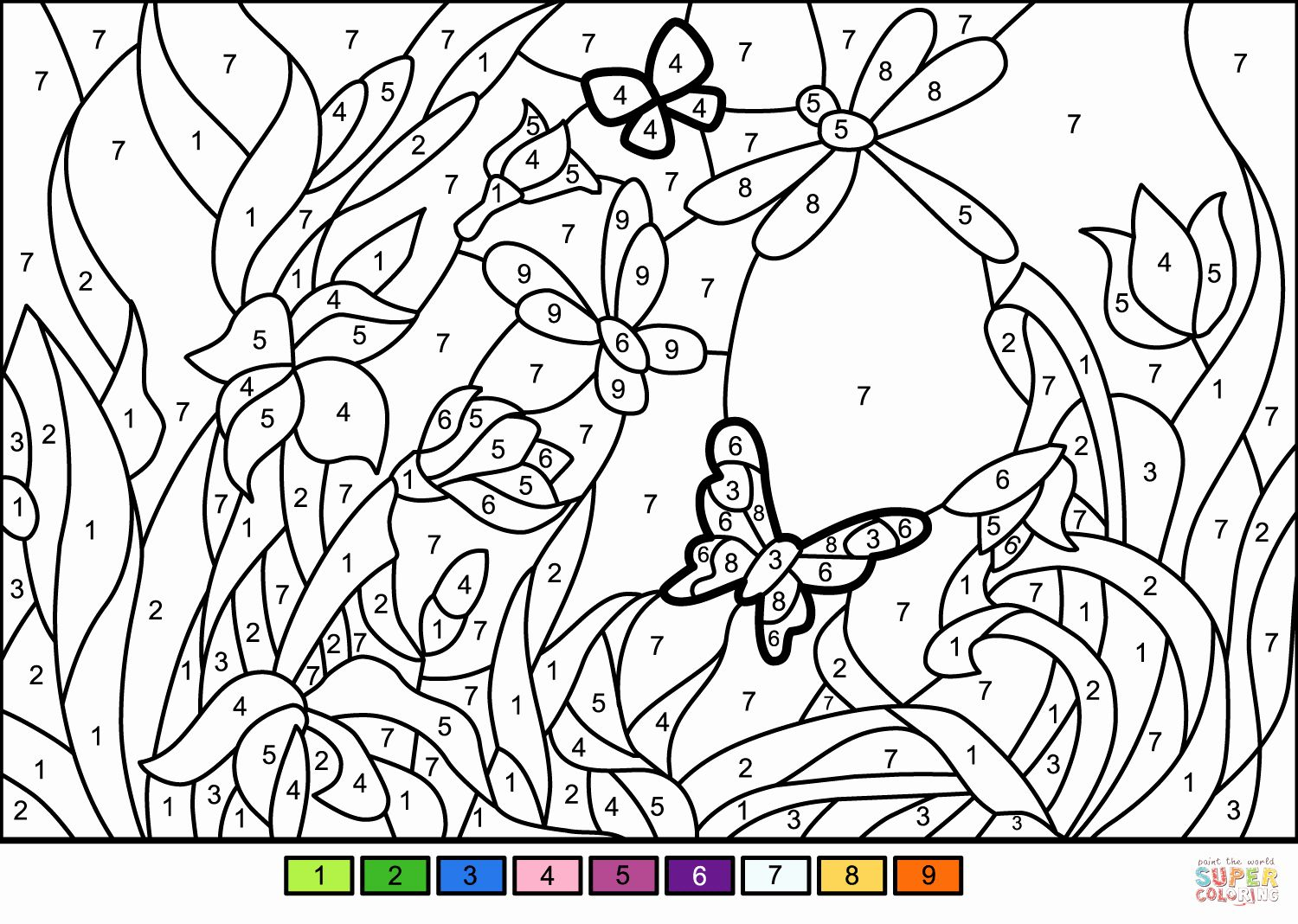 Paint By Numbers Coloring Book Inspirational Coloring