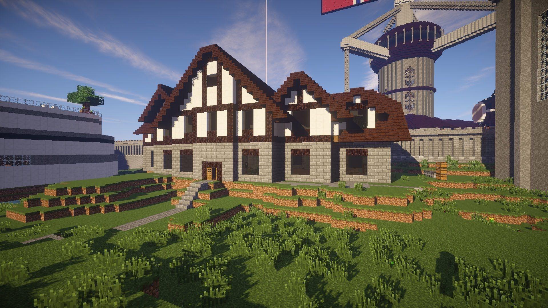 Cool Minecraft House Ideas   Minecraft beach house, Cool ...