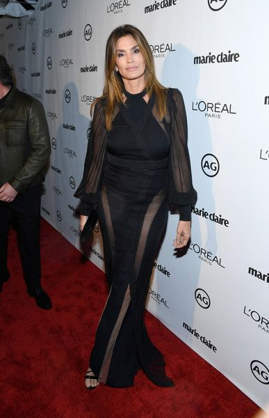 Model Cindy Crawford attends Marie Claire's Image Maker Awards 2017.