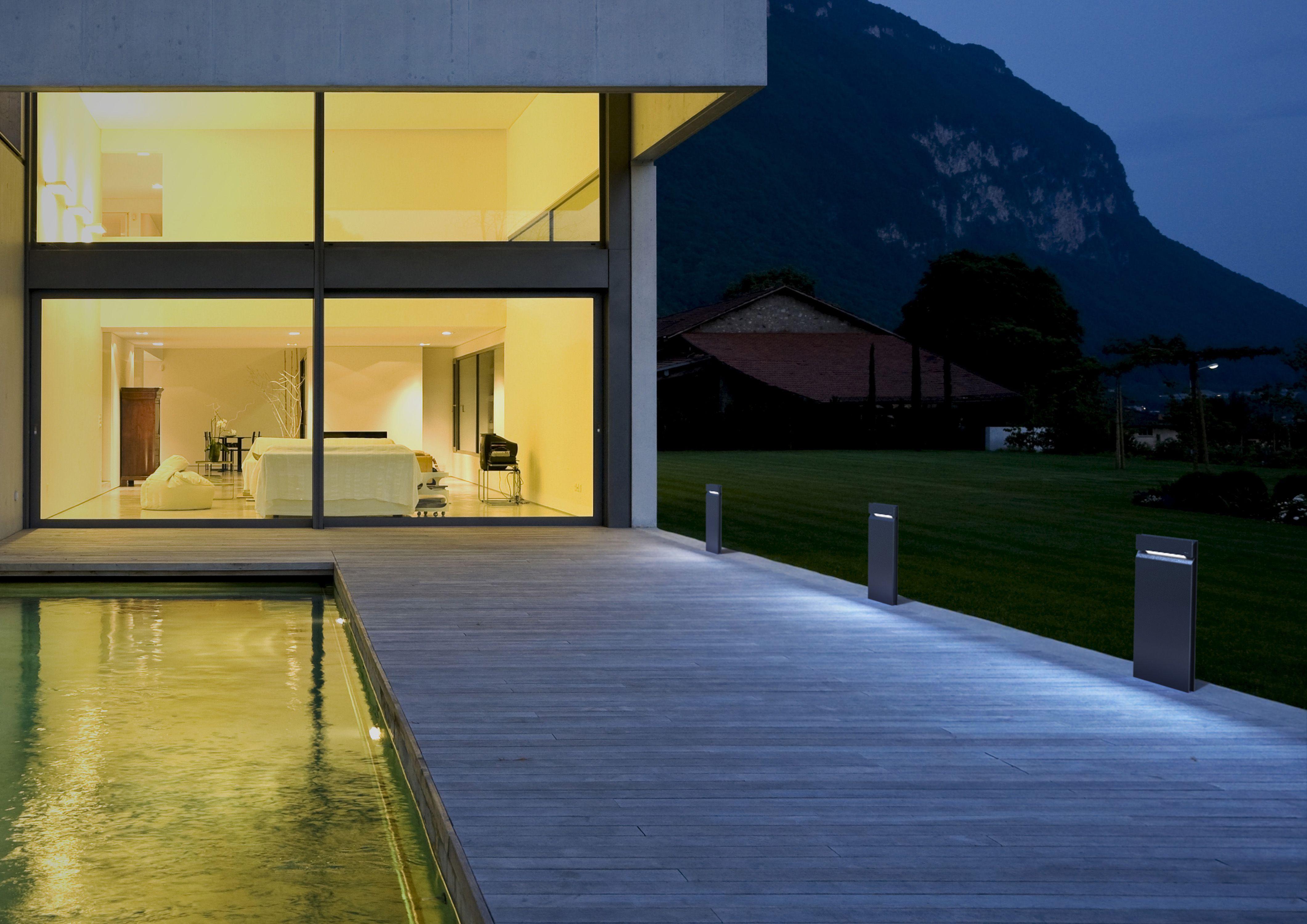Borne Eclairage Exterieur Design Elegant Luminaire Extrieur Design