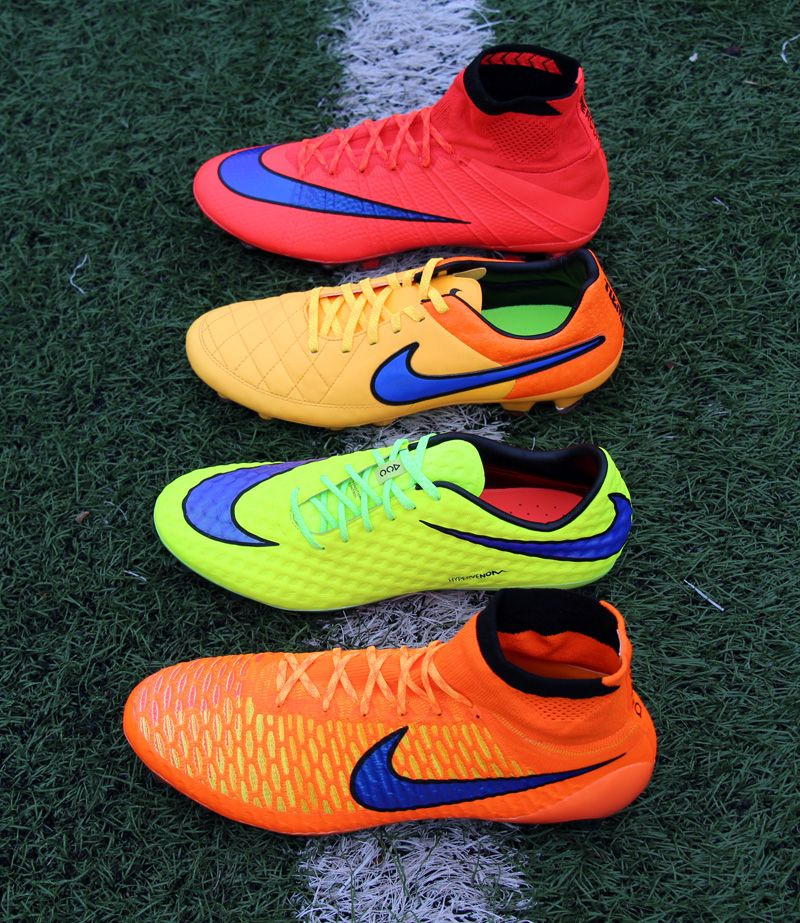 Fire Starters The Intense Heat Pack From Nike Soccer