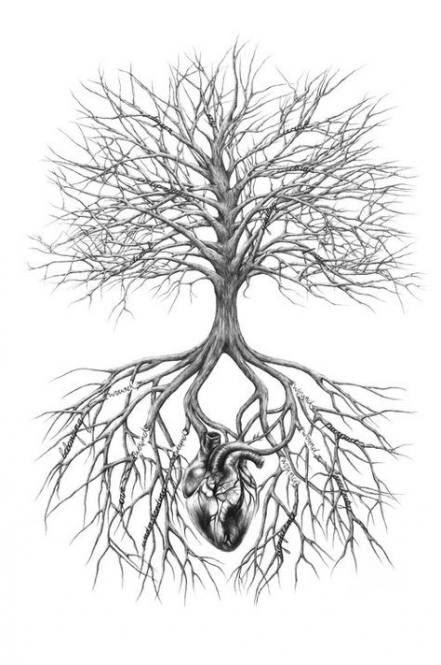 Photo of Tatouage d'arbre généalogique avec des racines de fleurs 19+ idées