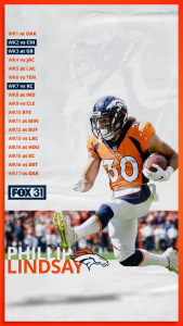 Get your 2019 Broncos schedule wallpaper FOX31 Denver