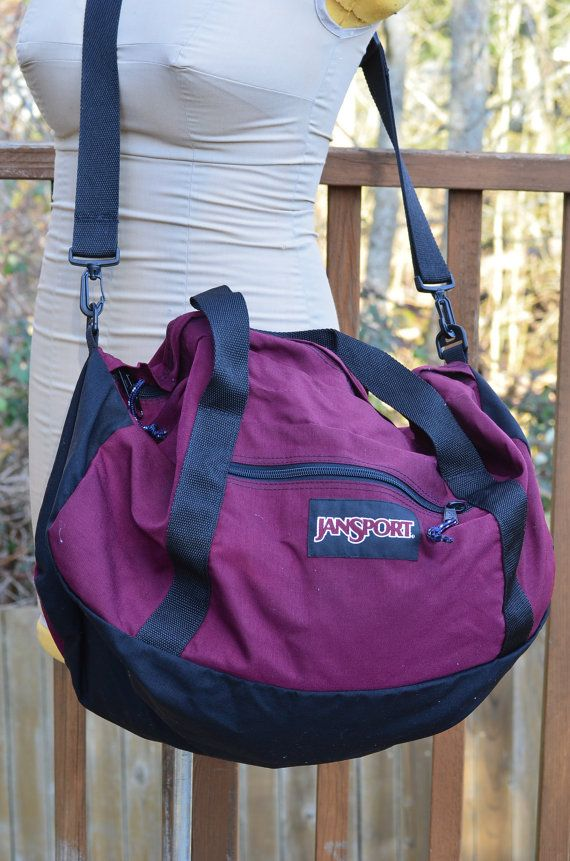 03230495dee0 Vintage Jansport Duffle Sports Bag. Find this Pin and more on Sport ...