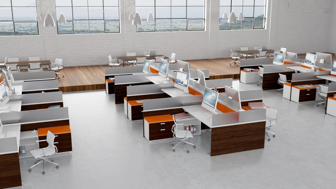 Modular Office Furniture Modern Workstations Cool Cubicles Sit Stand Ben Contemporary Office Furniture