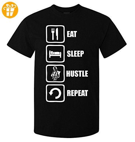 Better Call Saul Inspired Eat Sleep Hustle Repeat Men's T-Shirt Medium (*Partner-Link)
