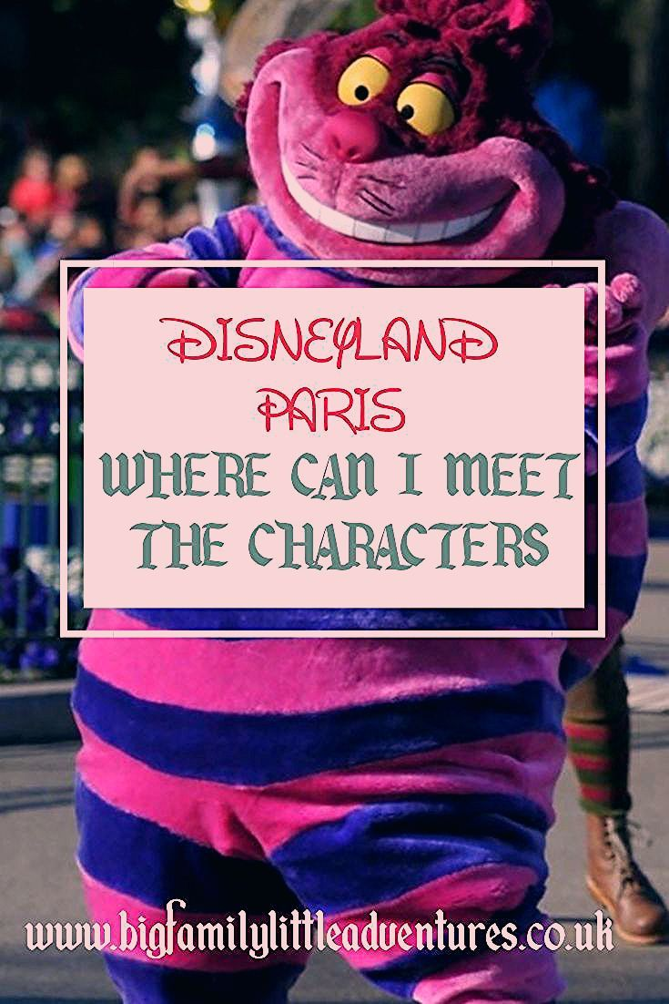 Photo of Disney Characters at Disneyland Paris: Locations and Dining