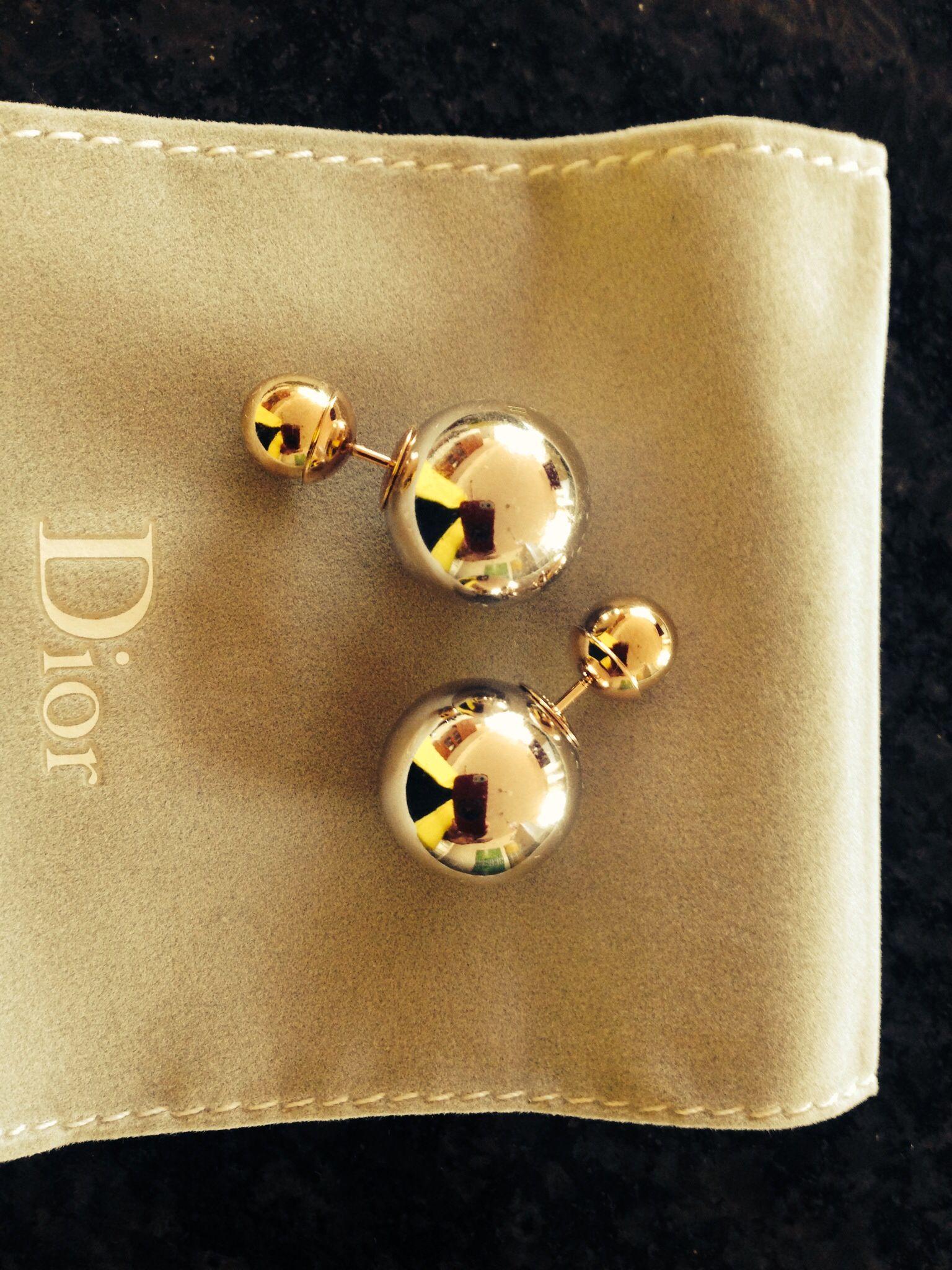 292fa2b6a23 Dior tribal earrings Pulseiras