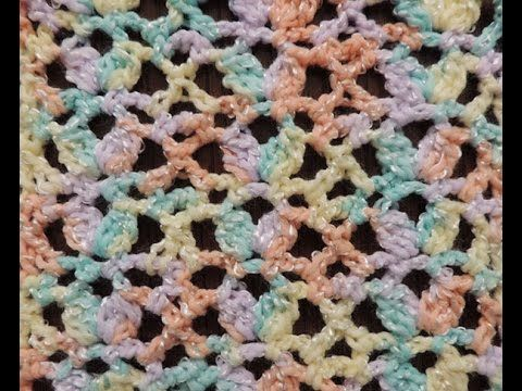 Crochet: Punto Calado # 27 - YouTube | Bebé de ganchillo | Pinterest ...