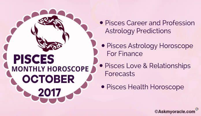 Pisces Monthly Horoscope October 2017 Pisces Monthly Horoscope Monthly Horoscope Horoscope
