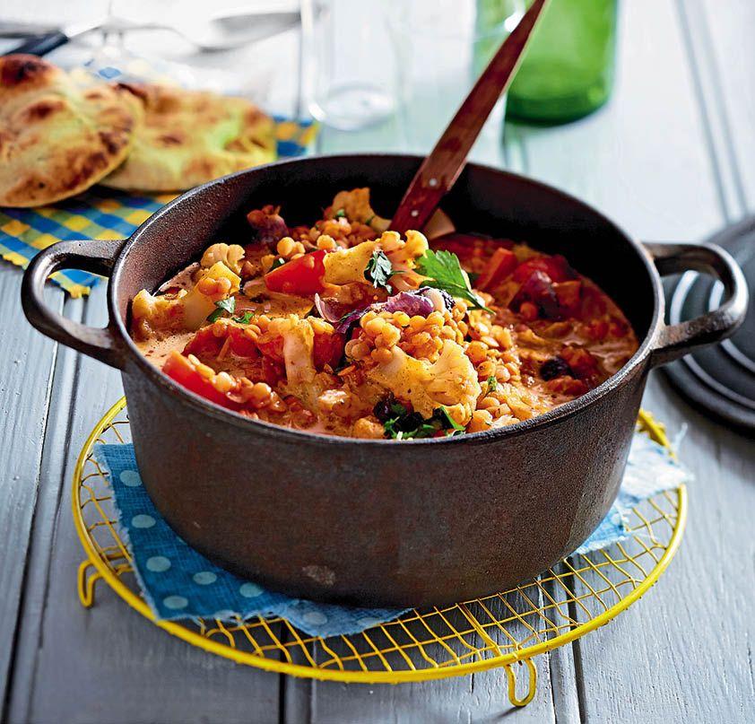 Rezept: Veganes Linsen-Kokos-Curry | Mutti kocht am besten