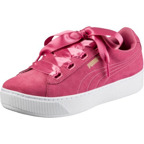 61699e66ea1 Puma Women's Vikky Platform Ribbon Casual Shoes (Pink, Size 8) - Women's  Athletic Lifestyle Shoes at Academy Sports