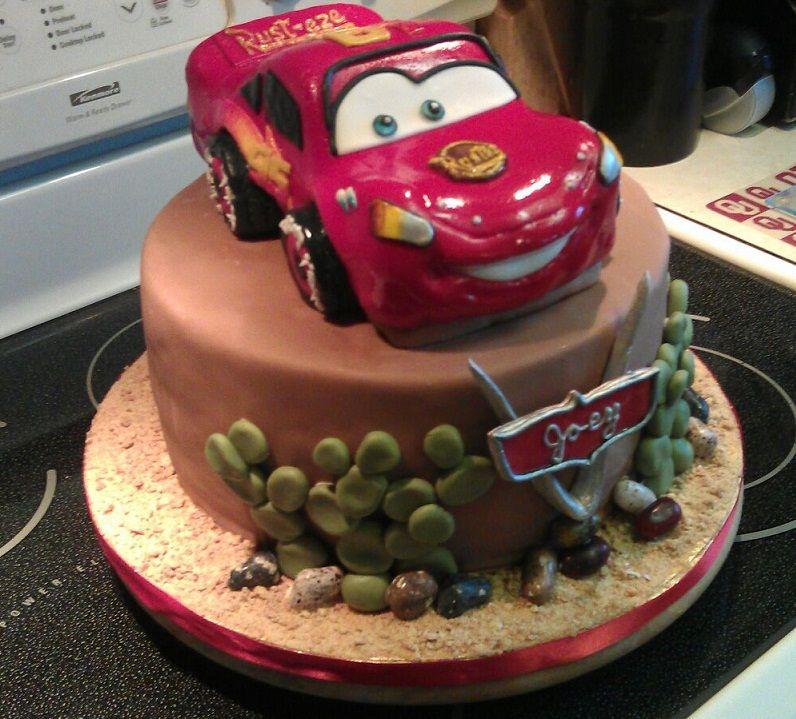 Birthday cake for a 4yr old boy Kids birthdays Pinterest
