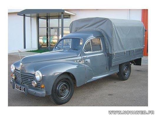 Peugeot 203 U8 Pick-up1953                                                                                                                                                                                 Mehr