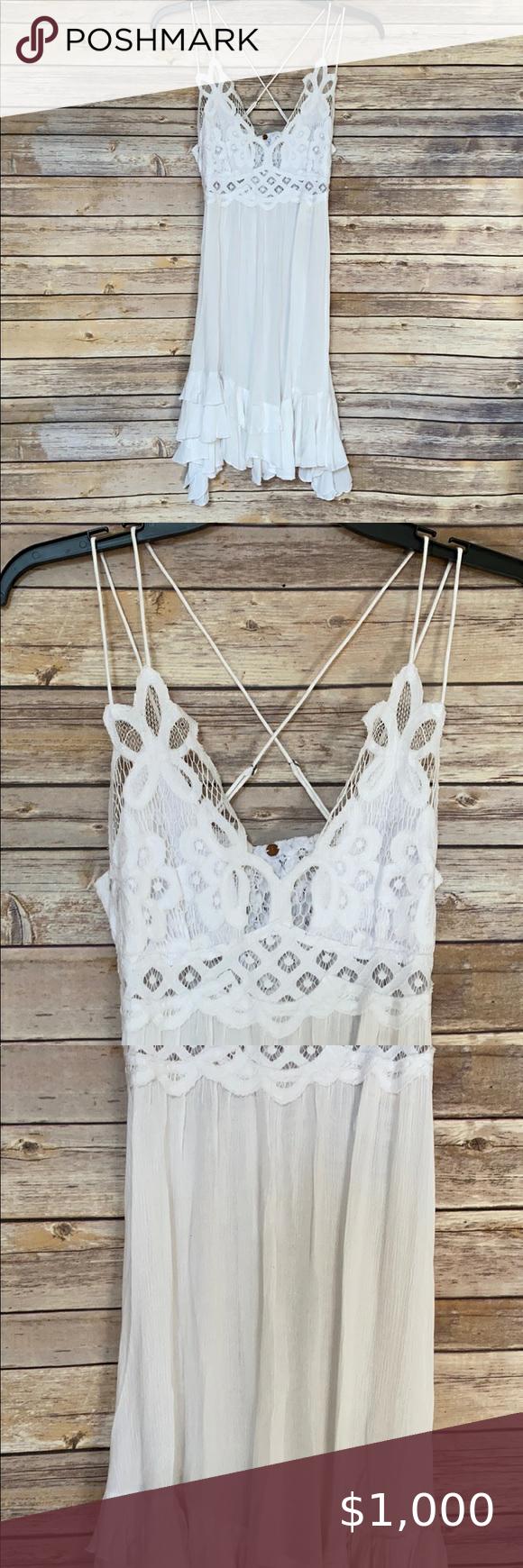 Nwt Free People Adella Lace Slip Dress White Lace Slip Dress White Slip Dress Lace Slip [ 1740 x 580 Pixel ]