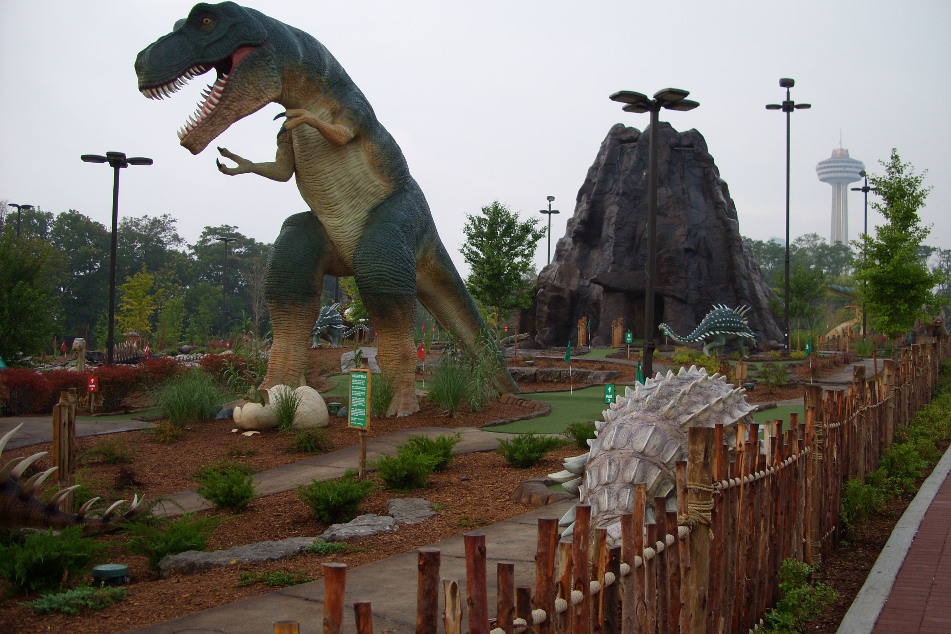 Dinosaur Adventure Golf - Niagara Falls, ON | Mini Golf | Pinterest ...