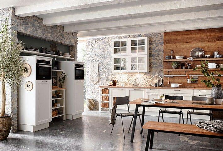 MALAGA Weiß Unsere neue Front Malaga aus der Produktlinie classic - kchen weiss landhausstil modern