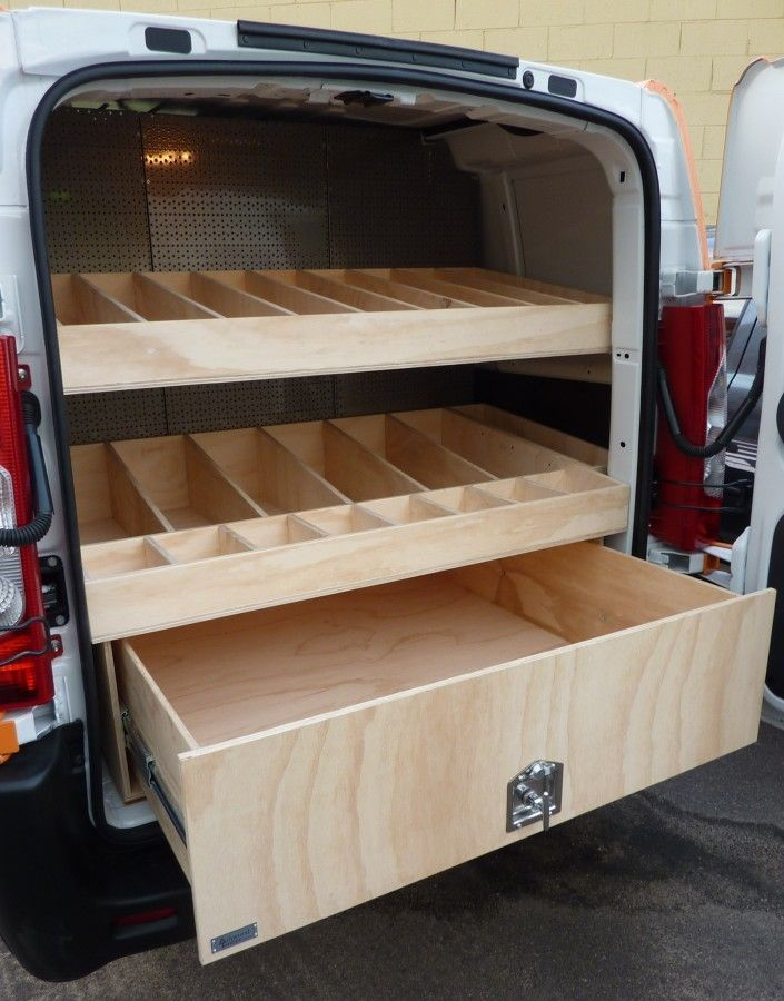 Gallery   Commercial Vehicle Fitouts   Ashwood Timber | Sunshine Coast | Vehicle  Storage Solutions