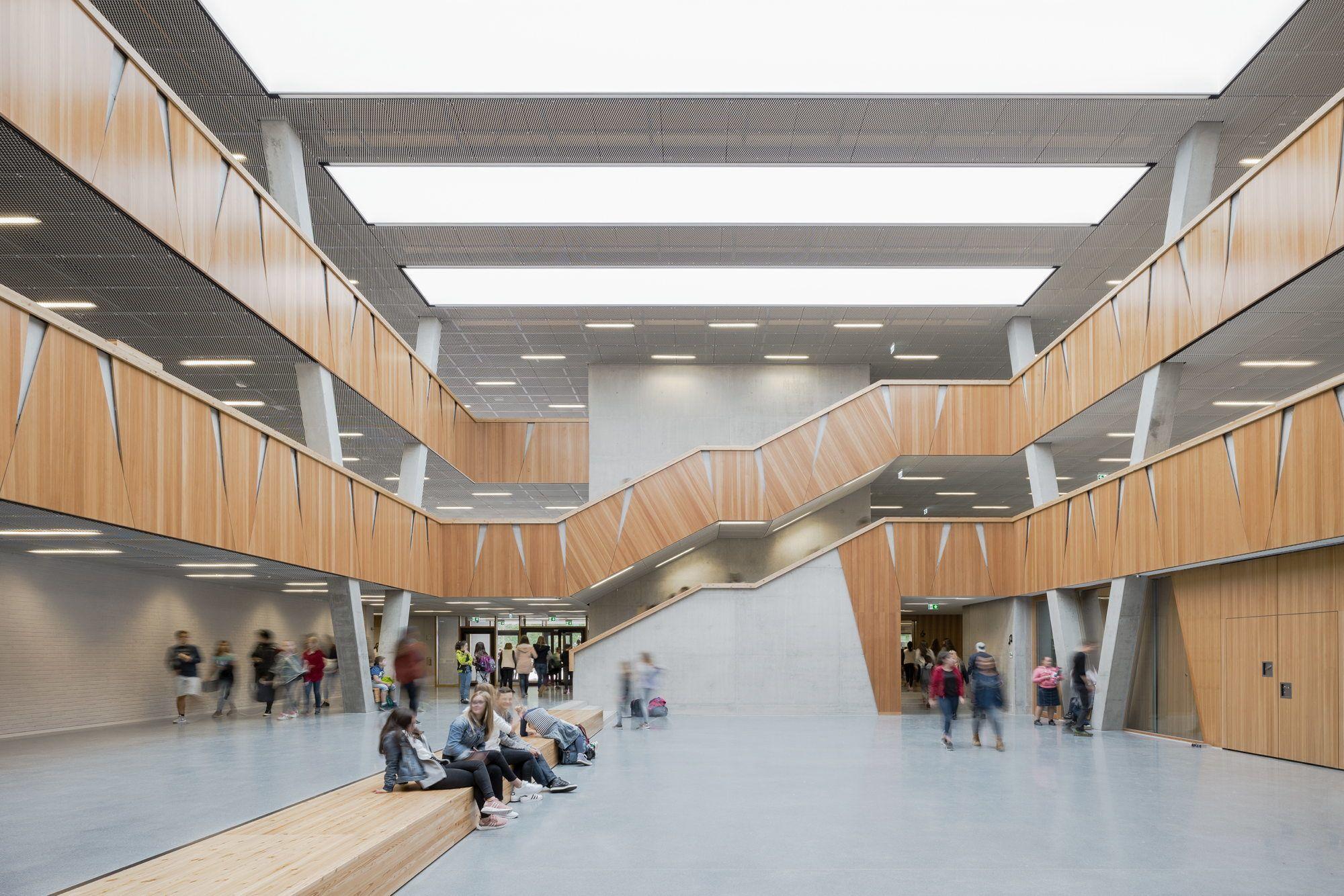 Lernen auf der Lichtung - Schule in Weiterstadt von Wulf Architekten