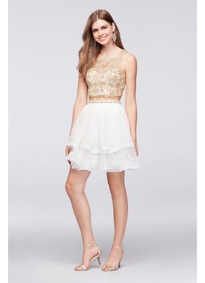 Short Ballgown Tank Quinceanera Dress - My Michelle Quinceanera Dresses a45d8494c