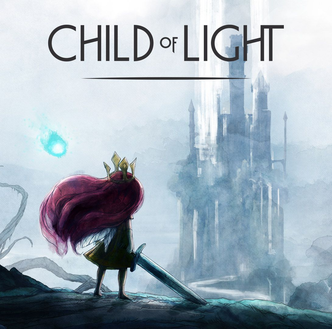 Game with watercolor - Media Child Of Light Rpg Game On Xbox One And Pc Wonderful Game Beautiful Watercolor Art Style And Sweet Though Sad Story