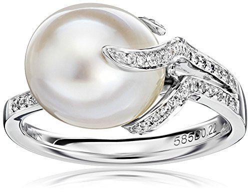 Majorica Womens 15-17 3 mm Circle Round Pearls Rings Pendant Necklace in Stainless Steel