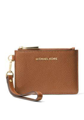 f8e546ca6ba9e8 Michael Michael Kors Women's Mercer Small Coin Purse - Luggage - One Size