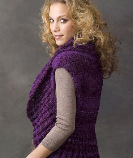 Endless Circle Vest Knits Pinterest Knitting Patterns Crochet