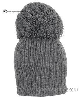 7e699e118 Satila Hat Park Grey. Satila baby woolly hats. Satila grey bobble ...
