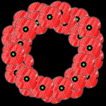 wreath template anzac day # 15