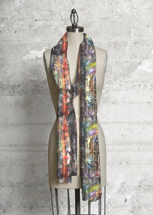 Modal Scarf - rain drops by VIDA VIDA XZ0do9