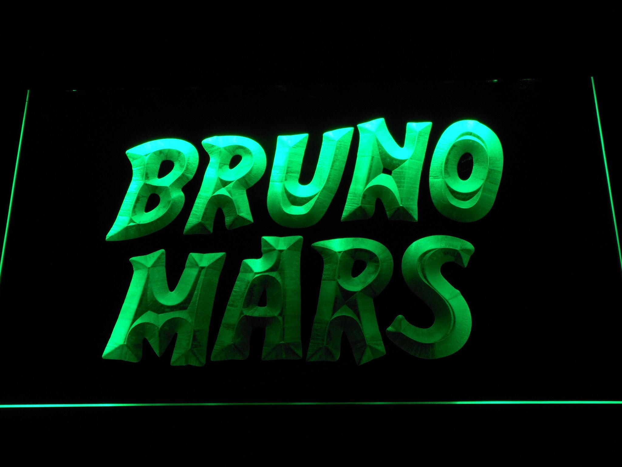 Bruno Mars LED Neon Sign Neon signs, Led neon signs