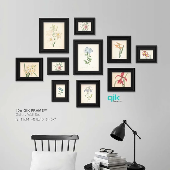 12pc Gallery Wall Set Q20 Matrix Gallery Wall Frames Gallery Wall Gallery Wall Set