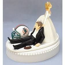 A perfect start to a perfect marriage Dolphins fans!!!