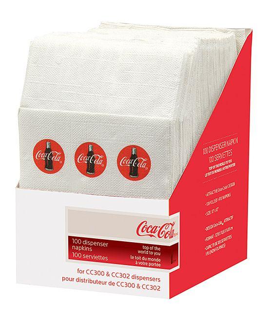 Coca-Cola Half-Size Napkin - Set of 100