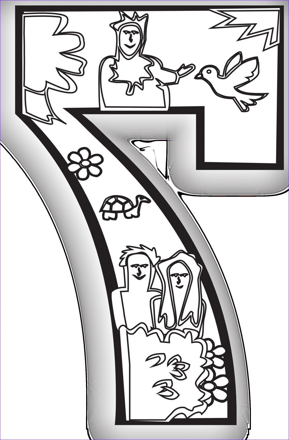 14 Unique Days Of Creation Coloring Pages Photos in 2020
