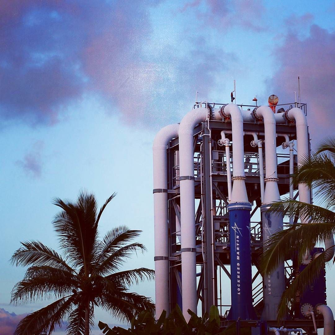 Hawaii is the first state to generate power from thermal energy stored in ocean water. Constant and clean energy. Island innovation.