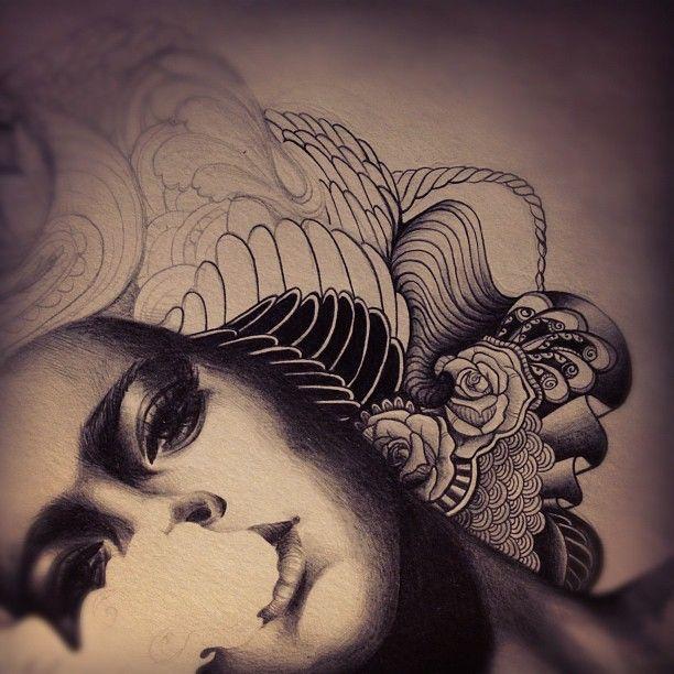 work in progress. pencil on paper.come visit my scribblings at sarsqr.tumblr.comor @sarsar on instagram.