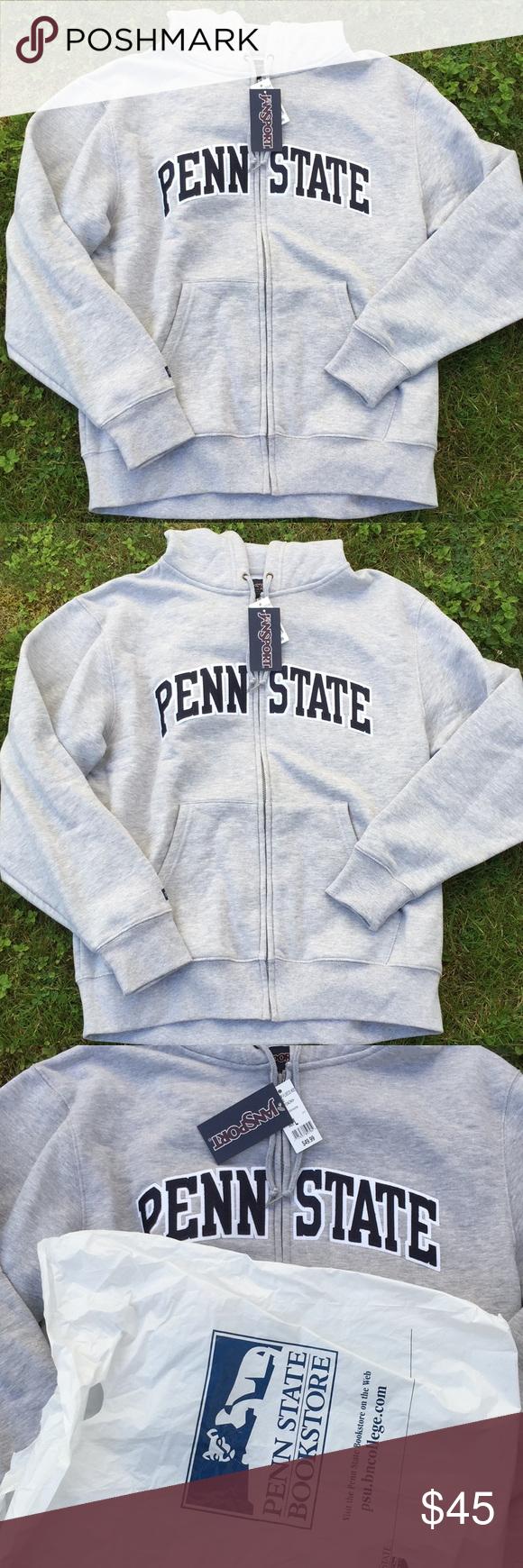 Penn State Men S Hoodie Nwt Size L Sweatshirt Shirt Clothes Design Hoodies [ 1740 x 580 Pixel ]