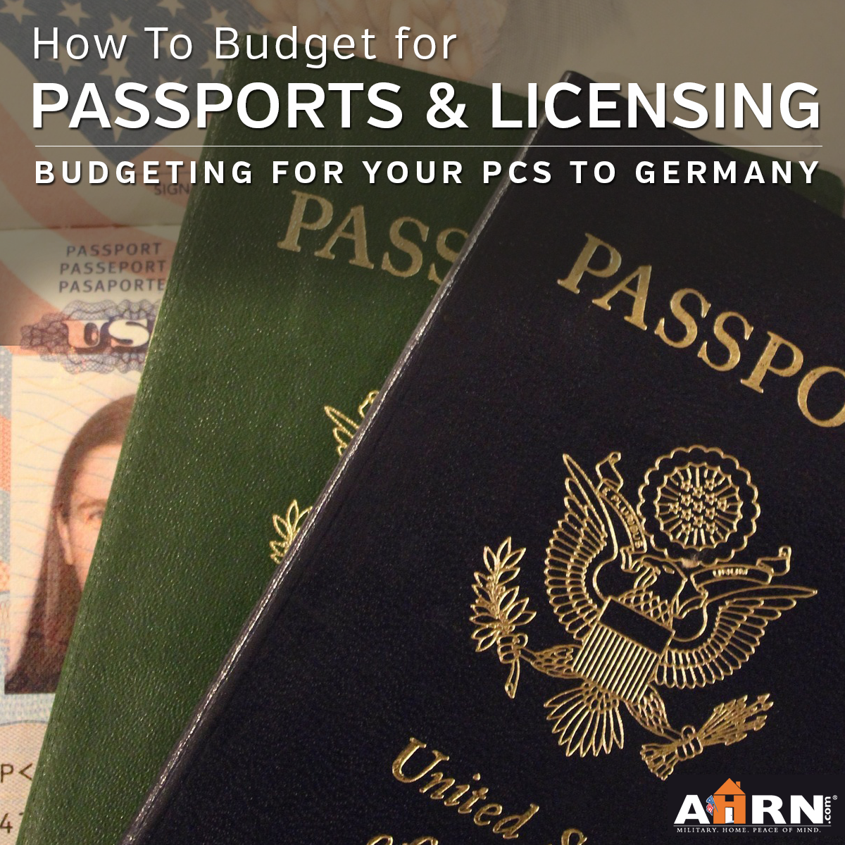 How to budget for passports and licensing when you're