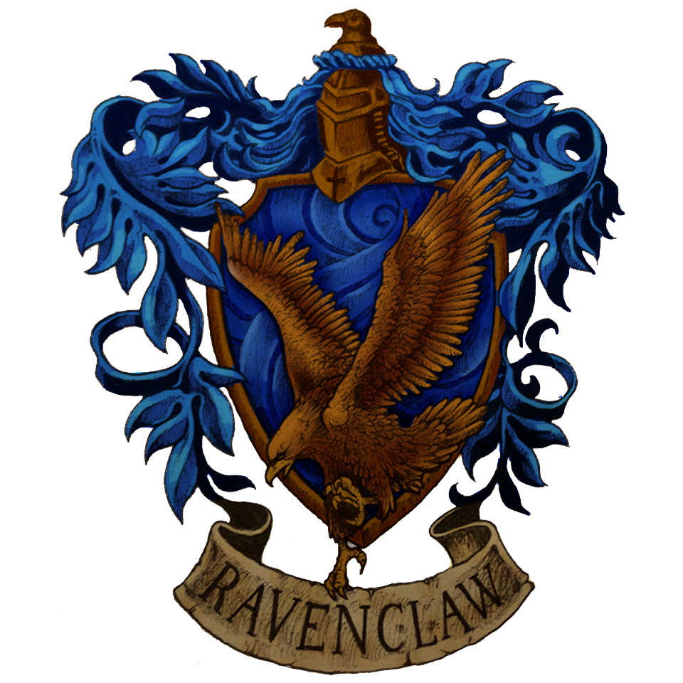 Ravenclaw crest by Kerby Rosanesdone (960×960) Harry