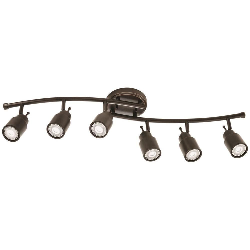 Lithonia Lighting 32 In 6 Light Oil Rubbed Bronze Linear
