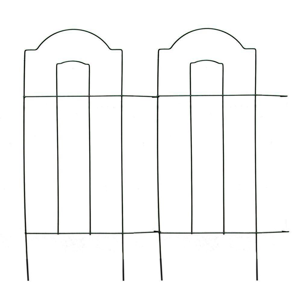 Vigoro 32 in. Cathedral Steel Wire Folding Fence | Cathedrals, Wire ...