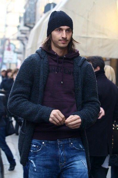 Resultado de imagen de ibrahimovic fashion