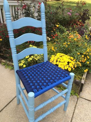 Amazing Weave Chair Seats With Paracord Woven Chair Old Wooden Gmtry Best Dining Table And Chair Ideas Images Gmtryco