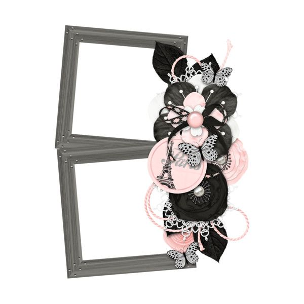 jss_oohhlala_cluster frame 5.png ❤ liked on Polyvore featuring frames, borders, filler and picture frame