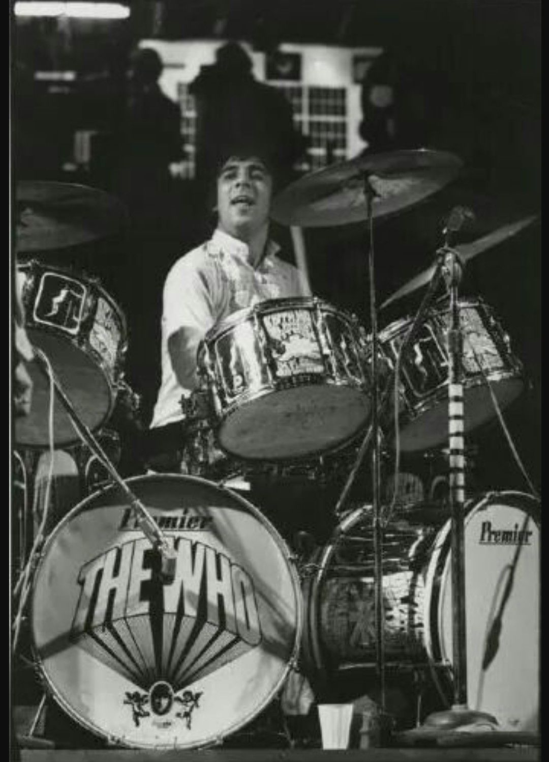 Keith With Most Of The Pictures Of Lily Drum Kit The Who